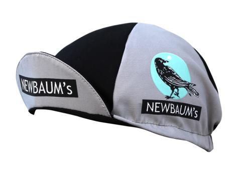 Newbaum's/Walz Cycling Cap Black/Grey