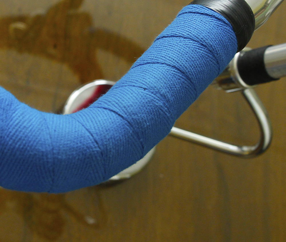 Newbaum's Cushioned Cloth Bar Tape blue