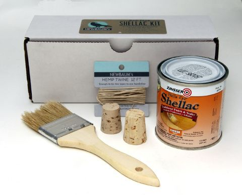 Newbaum's Cotton Tape Shellac Kit